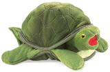 Folkmanis Hand Puppet - Baby Turtle