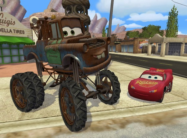 Cars Mater-National for PlayStation 2 image
