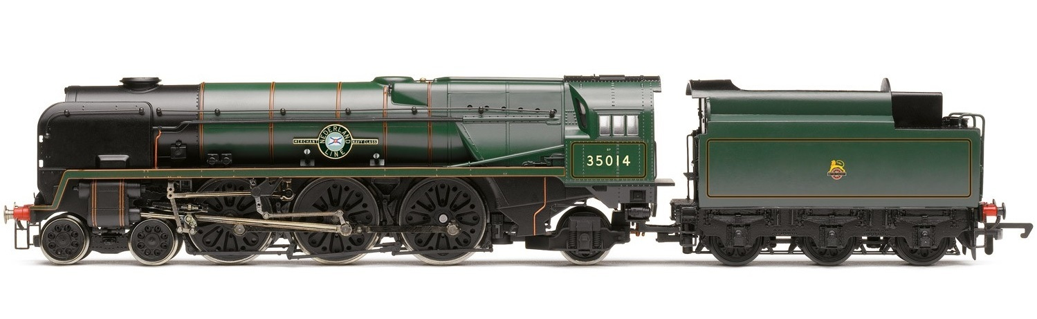 Hornby: Early BR 4-6-2 'Nederland Line' Merchant Navy Class image