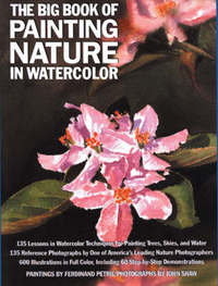 The Big Book of Painting Nature in Watercolour by Ferdinand Petrie