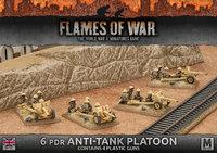 Flames of War:Desert Rats 6pdr Anti-tank Platoon