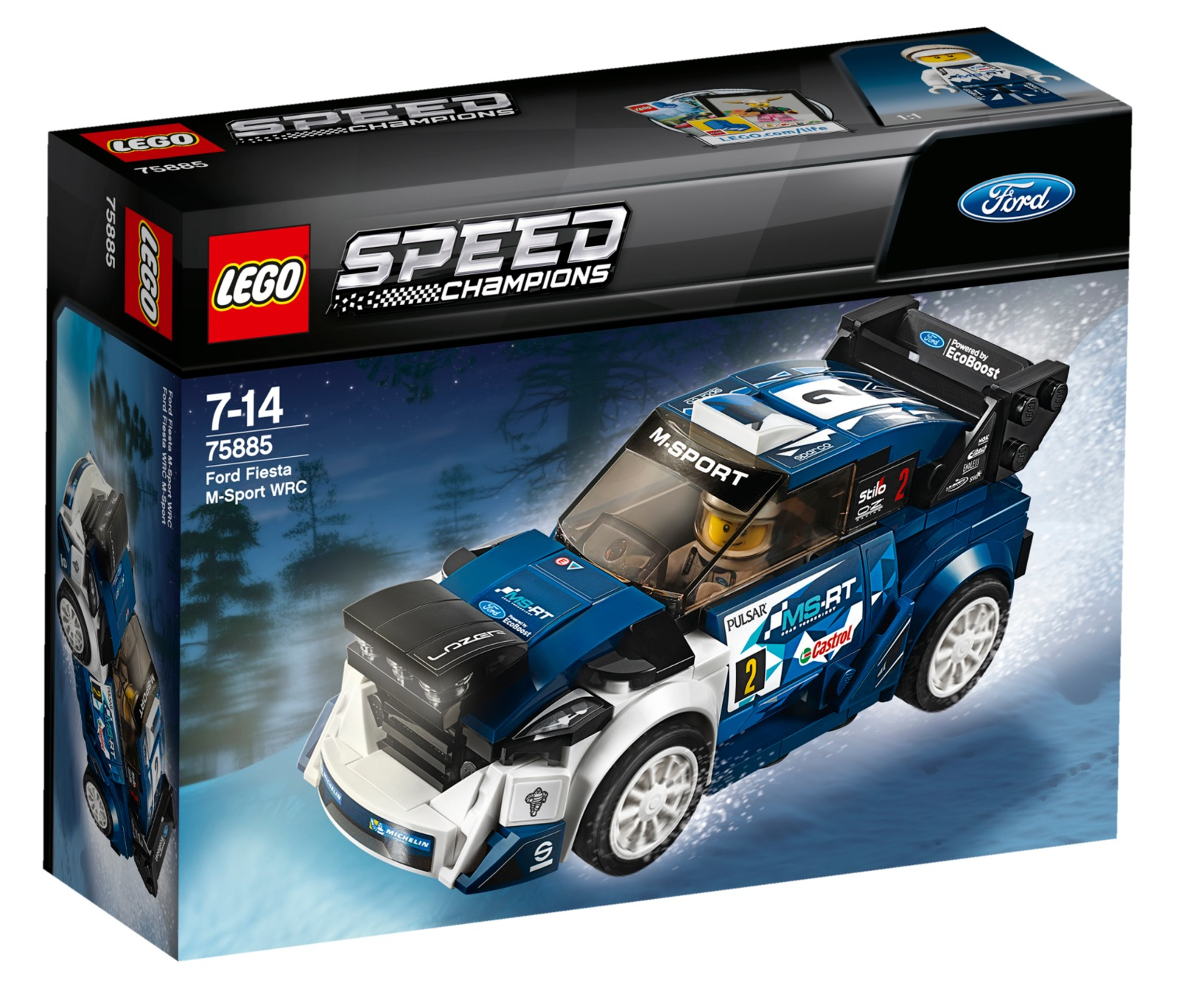 LEGO Speed Champions - Ford Fiesta M-Sport WRC (75885) image