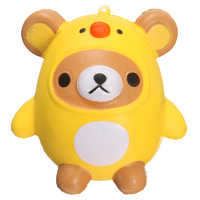 I Love Squishy: Bear in Costume Squishie Toy (10cm)