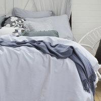Bambury Queen Textured Quilt Cover Set (Bonita) image
