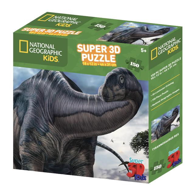 Super 3D: 150-Piece Jigsaw Puzzle - Argentinosaurus