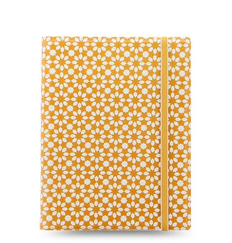 Filofax: A5 Impressions Notebook - Yellow + White image