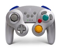 Nintendo Switch Wireless GameCube Controller - Silver Metalic for Switch