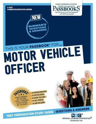 Motor Vehicle Officer by National Learning Corporation image