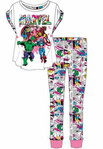 Marvel Comics: Womens Pyjama Set (20-22)