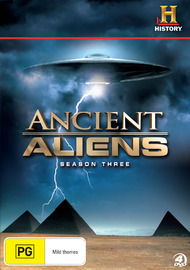Ancient Aliens - Season 3 on DVD