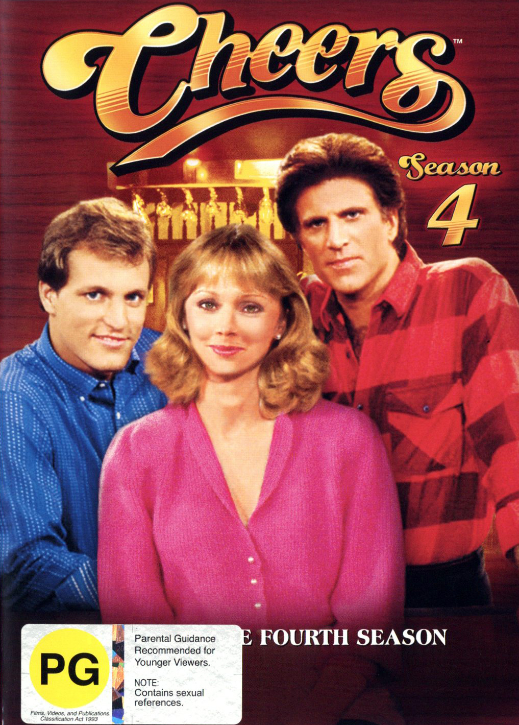 Cheers - Complete Season 4 on DVD image