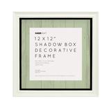 Kaisercraft: 12 x 12 Shadow Box Frame - White