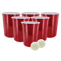 Giant Beer Pong Game image