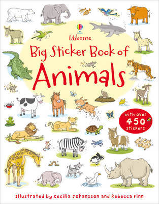 Big Sticker Book of Animals by Sam Taplin image