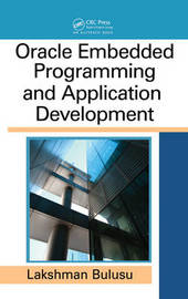 Oracle Embedded Programming and Application Development by Lakshman Bulusu image