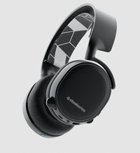 SteelSeries Arctis 3 Bluetooth Headset (Black) for PC Games