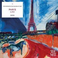 Paris in Art 2019 Wall Calendar by Metropolitan Museum of Art the