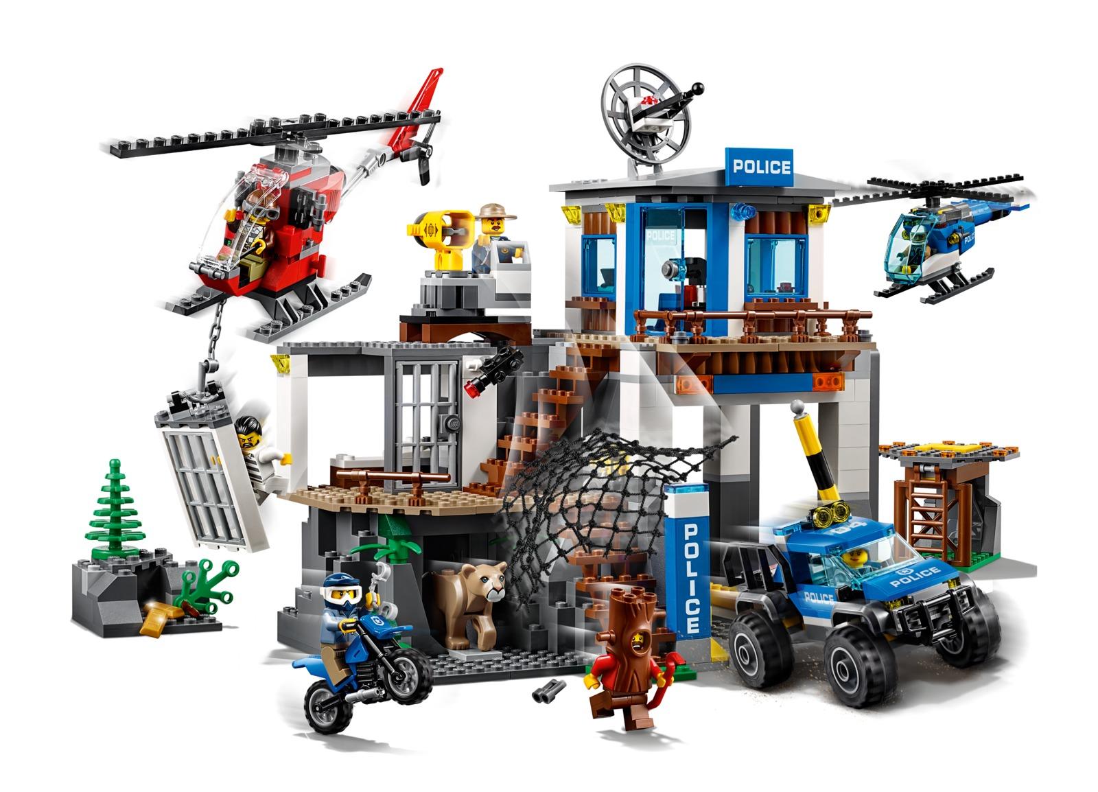 LEGO City: Mountain Police Headquarters (60174) image