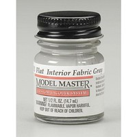 Model Makers: Lacquer Paint - Interior Frabric Gray (Flat)