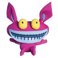 "Aaahh!!! Real Monsters: Ickis - 6"" Super Deformed Plush"