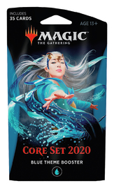 Magic The Gathering: Core Set 2020 Blue Theme Booster image