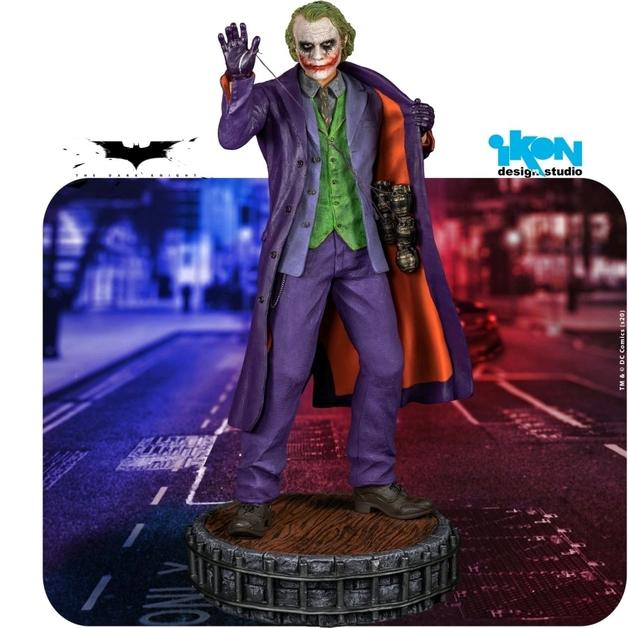Batman: The Dark Kight - The Joker - 1:6 Scale Premium Statue