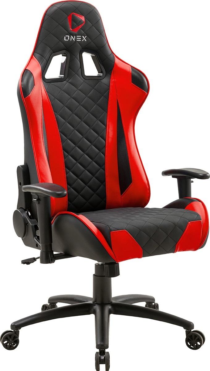 Aerocool ONEX GX330 Series Gaming Chair (Black & Red) image