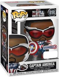 Marvel's Falcon & Winter Soldier: Captain America (YOTS) - Pop! Vinyl Figure
