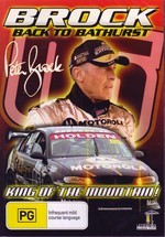 Peter Brock: Back to Bathurst - King of the Mountain on DVD