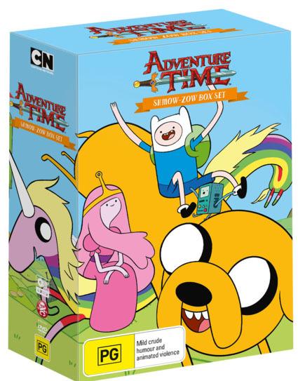 Adventure Time Shmow Zow Box Set Dvd Buy Now At