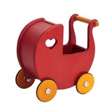 Moover Mini Doll's Pram - Red