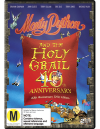 Monty Python and the Holy Grail - 40th Anniversary on DVD