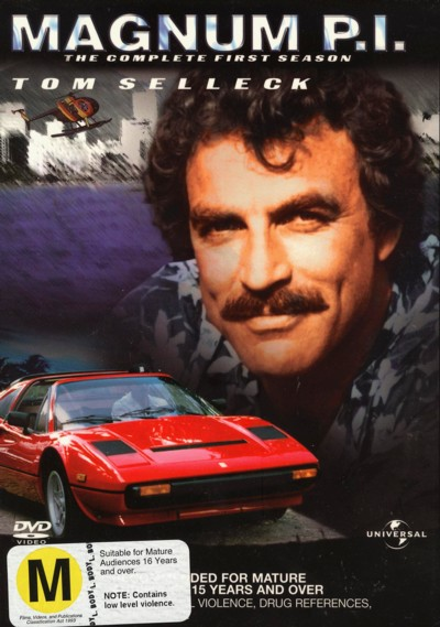 Magnum P.I. - Complete Season 1 (6 Disc Set) on DVD image