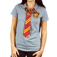 Harry Potter Gryffindor Caped Polo Shirt (Large)