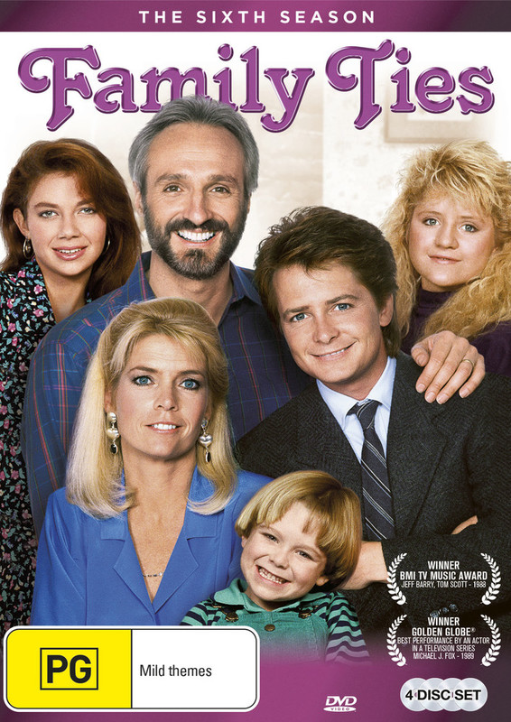 Family Ties - The Complete Sixth Season on DVD