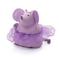 Gund: Ballerina Mouse - Lavendar