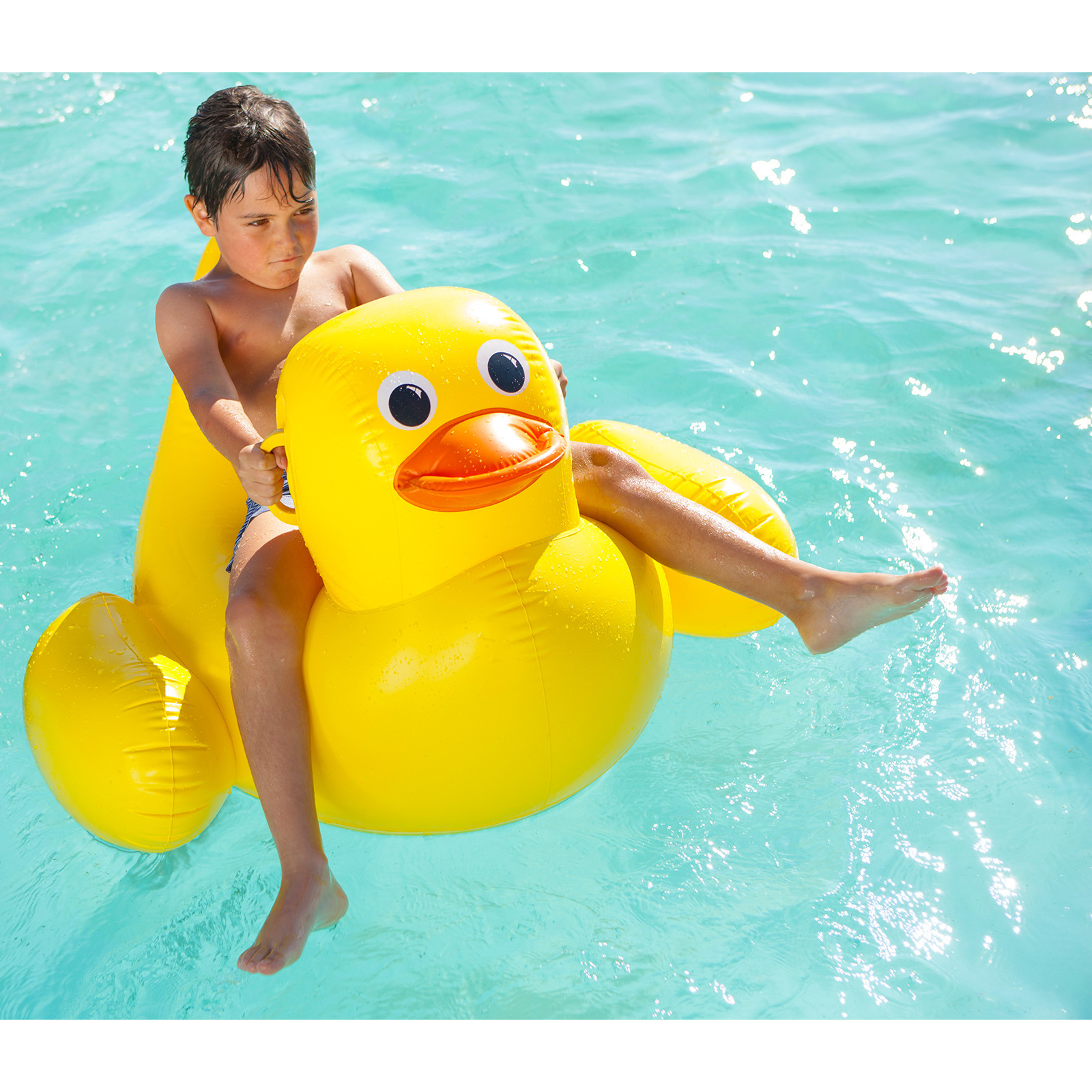 Sunnylife Inflatable Float Duck Toy At Mighty Ape