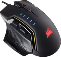 Corsair GLAIVE RGB Gaming Mouse - Black for PC Games image