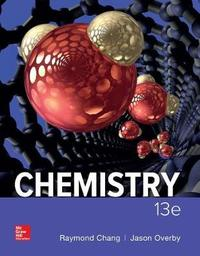 Student Solutions Manual for Chemistry by Raymond Chang image
