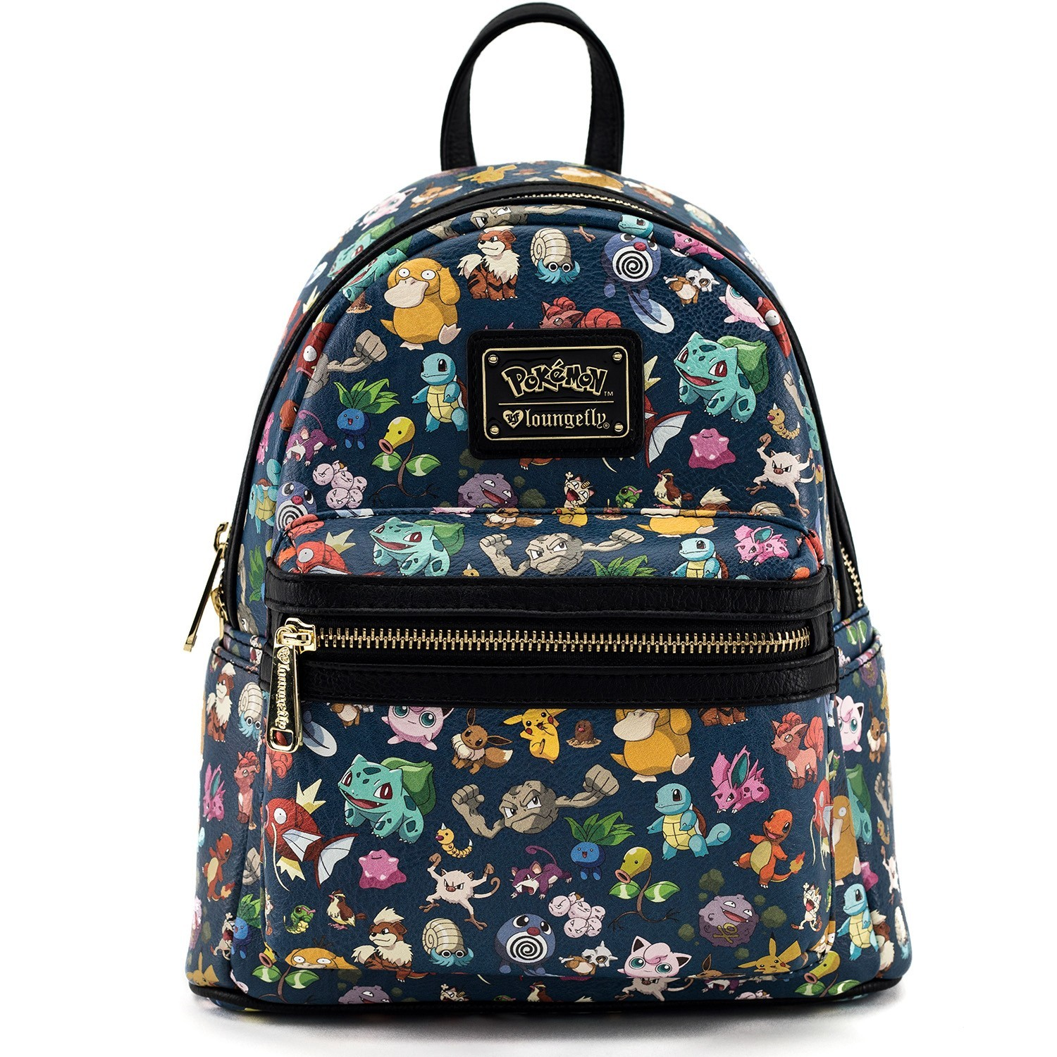 Loungefly Pokemon First Generation All Over Print Mini Backpack image ... 7d961197535d1