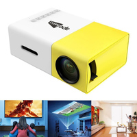 Ape Basics Portable Full Color LED LCD Video Projector image