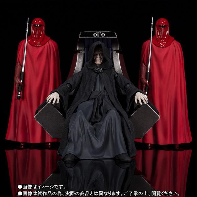 Star Wars: Emperor Palpatine - S.H.Figuarts Figure Set