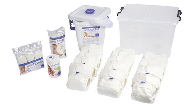 Bambino Mio: Solo Premium Pack - White (15 Pack)