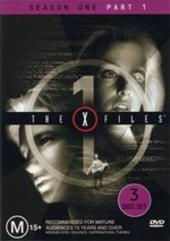 X-Files, The Season 1: Part 1 (3 Disc) on DVD