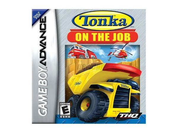 Tonka on the Job for Game Boy Advance image