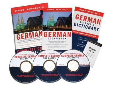 German Complete Course CD Programme by Living Language image