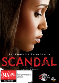 Scandal - The Complete Third Season on DVD
