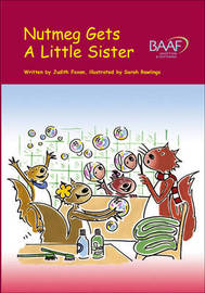 Nutmeg Gets a Little Sister by Judith Foxon image