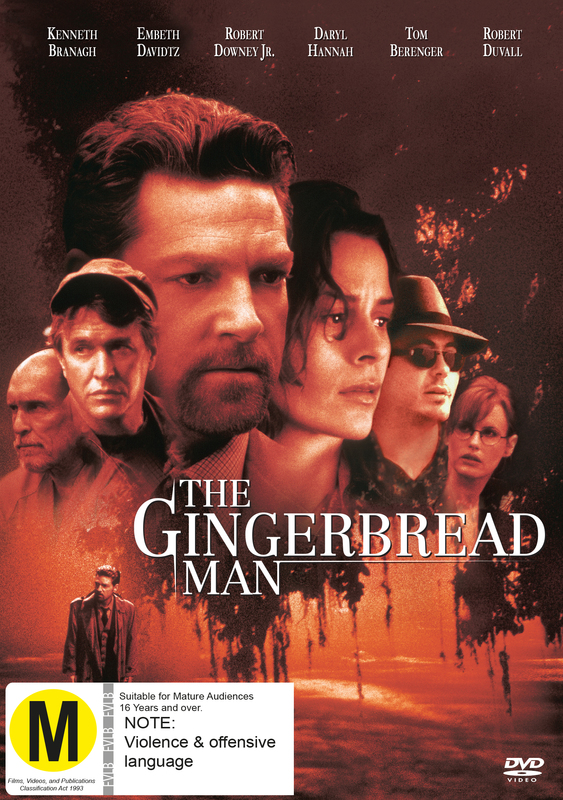 The Gingerbread Man on DVD