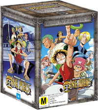 One Piece: Uncut - Treasure Chest Collection 1 Box Set on DVD